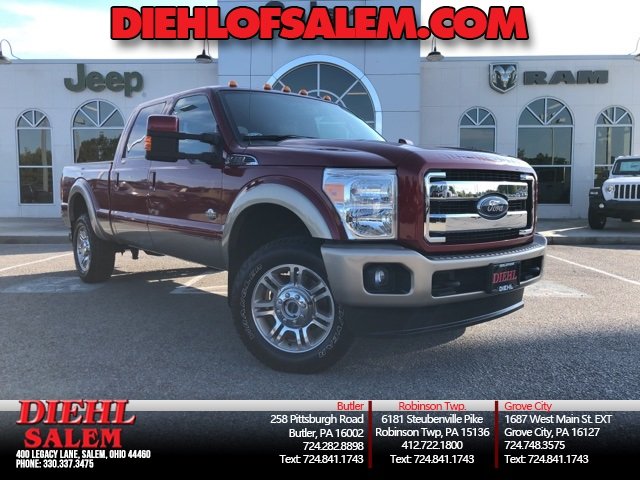 Pre-Owned 2014 Ford F-350SD King Ranch