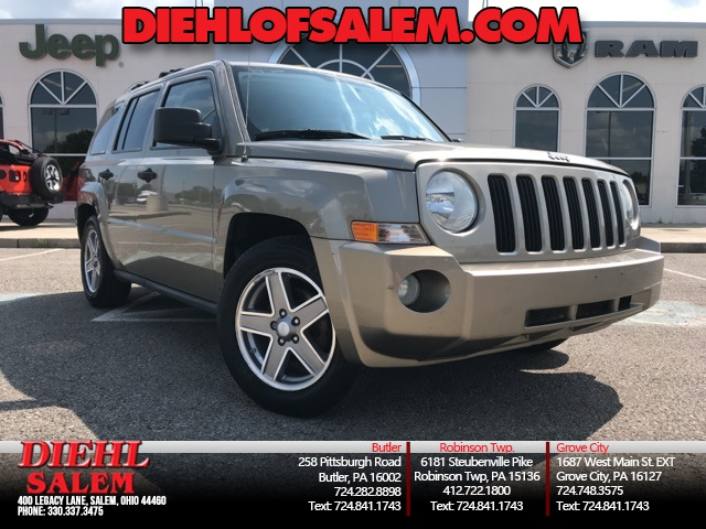 PRE-OWNED 2007 JEEP PATRIOT SPORT 4WD