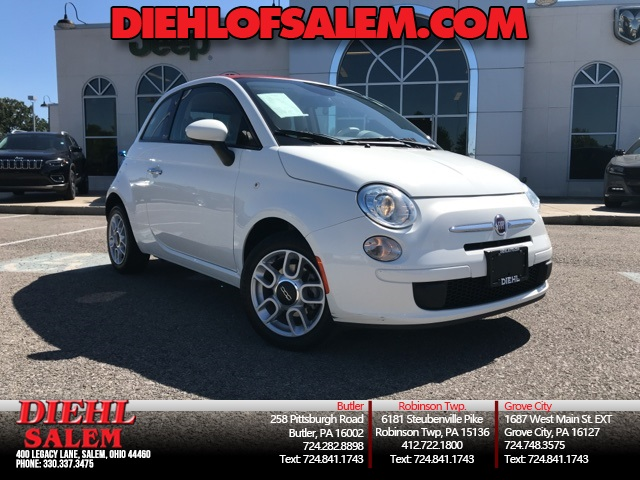 Pre-Owned 2014 FIAT 500c Pop
