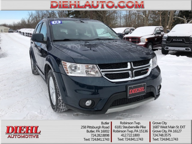 Certified Pre-Owned 2013 Dodge Journey SXT