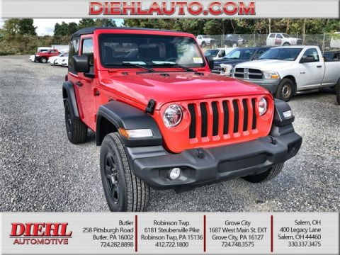 Jeeps For Sale In Pa >> New Jeep Wrangler In Butler Diehl Cdjr Of Butler