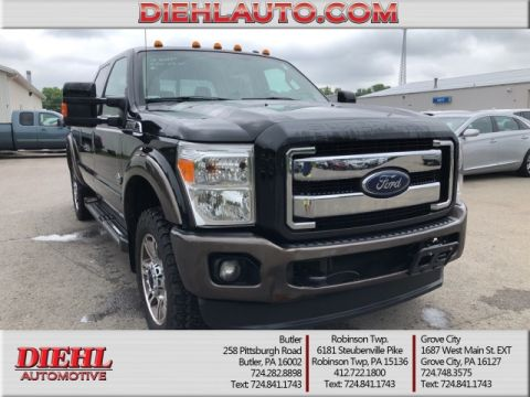 Pre-Owned 2015 Ford F-250SD King Ranch